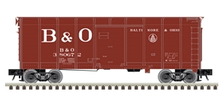 "Atlas O (weaver) B&O (large ""B&O"")  40' wagon top box  car"