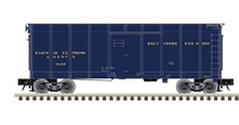 Atlas  O (weaver)  B&O (Blue)  40' wagon top box  car