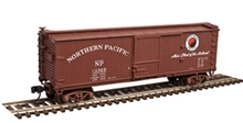 Atlas O NP 40' double sheathed wood box  car