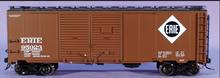 Atlas O Erie  1937 style AAR 40' steel double door box car