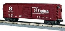 MTH Rail King Santa Fe El Capitan Box Car, 3 rail