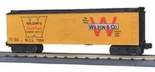 MTH Rail King Wilson & Company Reefer, 3 rail