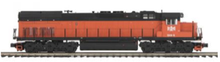 MTH Premier B&LE SD-40T-3 Tunnel Motor diesel, 2 rail,  p3.0, sound, cruise, exhaust
