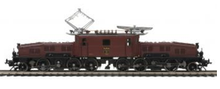 MTH Premier Crocodile Electric engine (brown), 2 rail with P3.0 and DCC