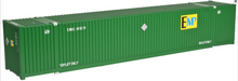 Atlas O  53'  container assortment..EMP, Hub green, UMAX