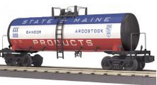 MTH Railking  BAR  Modern Tank Car, 3 rail