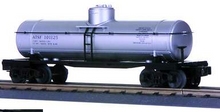 MTH Railking  Santa Fe silver Tank Car, 3 rail