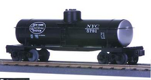 MTH Railking  NYC  8000 gal Tank Car, 3 rail