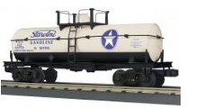 MTH Railking  White Star 11,000 gal style  Tank Car, 3 rail