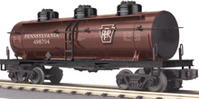 MTH Railking PRR 3 dome Tank Car, 3 rail