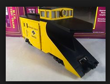 MTH Premier LV wedge snow plow, 3 rail