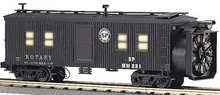 MTH Railking SP Rotary snow plow , 3 rail