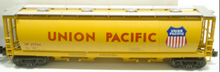 MTH Railking UP cylindrical covered hopper car, 3 rail