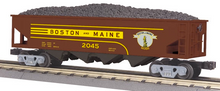 MTH Railking B&M  4 bay  hopper car, 3 rail