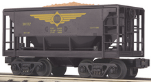 MTH Railking Scale Erie Ore Car w/Load, 3 rail