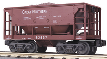 MTH Railking Scale GN Ore Car w/Load, 3 rail