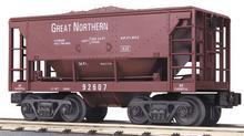 MTH Railking GN Ore Car w/Load, 3 rail