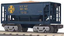 MTH Railking Sant Fe Ore Car w/Load, 3 rail