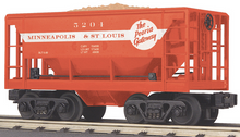 MTH Railking Scale MStL Ore Car w/Load, 3 rail