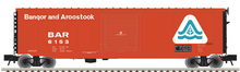 Atlas O BAR (late sceme)  50' modrnized PS-1 single door  box car, 3 rail