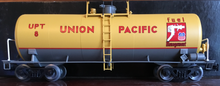 Weaver UP  (diesel fuel) 40' tank car, 3 rail or 2 rail