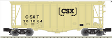 Atlas O CSX Airslide Covered Hopper, 3 rail or 2 rail