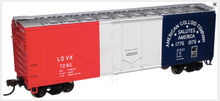 Atlas O 40' American Colloid plug door (bunkerless) reefer, 3 rail or 2 rail  car