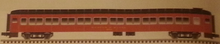 Atlas O (weaver) 80' B&M Pullman-Bradley coach Car, 3 rail or 2 rail