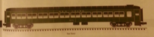 Atlas O (weaver) 80' NH green (no logo) Pullman-Bradley coach Car, 3 rail or 2 rail,