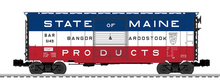 Weaver Bangor and Aroostook 40' PS-1 box car, 3 rail or 2 rail