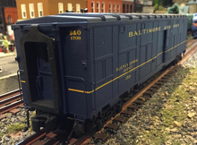 Weaver  O B&O Baggage/express converted troop car