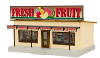 MTH 30-90433 O gauge Fresh Fruit Road Side Stand building