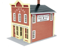 MTH 30-90274 O gauge Capital Star Saloon 2- story Hotel building