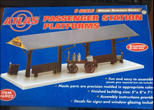 Atlas O Passenger Station Platforms Kit  (2 platforms)