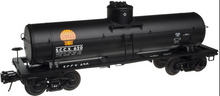 Atlas O special run Shell Chemical  (black) 8000 gal tank car, 3 rail or 2 rail