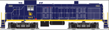 Atlas O CNJ  RS-3, 3 rail, horn and bell