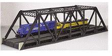 Atlas O 2 rail  double track pratt truss bridge
