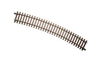 "Atlas O 2 rail 8 pieces 49.5"" radius curve track"
