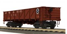 MTH SP 50 Ton Composite Drop Bottom Gondola Car, 3 rail