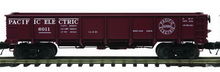MTH special run Pacific Electric 55 Ton Steel Drop Bottom Gondola Car, 3 rail or 2 rail
