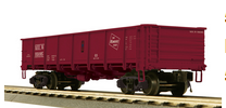 MTH Premier Milwaukee Road 55 Ton Steel Drop Bottom Gondola Car, 3 rail