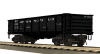 MTH Premier NP  55 Ton Steel Drop Bottom Gondola Car, 3 rail