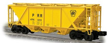 Weaver PRR H30 covered hopper (yellow), 2 rail or 3 rail
