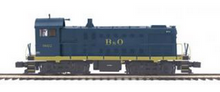 MTH Premier B&O S-2  switcher, 3 rail, Non powered
