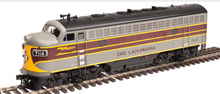 Atlas O Erie-Lackawanna F-7 A  non-powered diesel, 3 rail