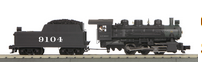MTH Railking Imperial Santa Fel System 0-6-0 switcher 3 rail with P3.0
