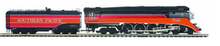 MTH Premier Southern Pacific GS-4 steam loco, 2 rail, P3.0, DCC