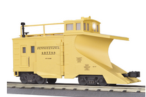MTH Premier PRR wedge snow plow, 3 rail