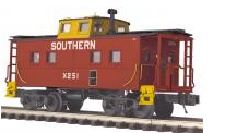 MTH Premier Southern Center Cupola NE style Caboose, 3 rail