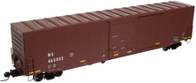 Atlas O Ns (tuscan, plain) 60' auto parts  box car,  3 rail or 2 rail